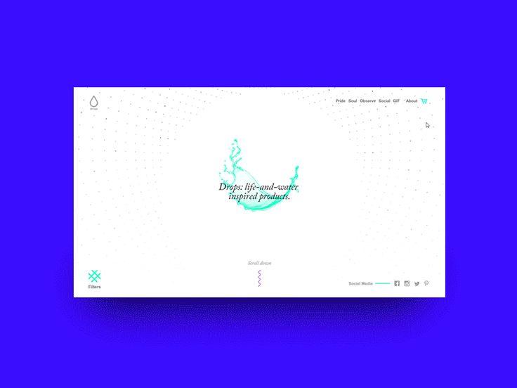 Drops card concept