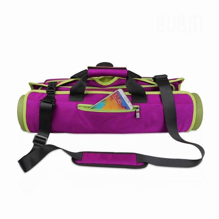 yoga bag purple