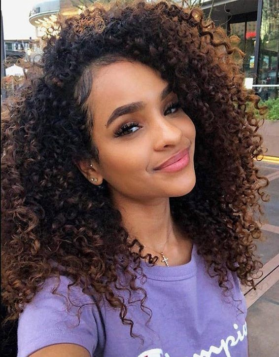 Curly Hairstyles In Your 40 S Curly 50s Hairstyles To The Side Curly Hairstyles Curly Medium Curly Hair Styles Curly Hair Styles Curly Hair Styles Easy