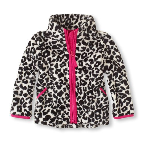 The all-around perfect jacket in cute leopard print that provides comfort and protection from the elements!