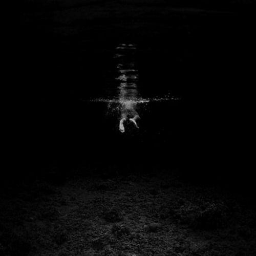 Great photo: B W, Underwater, Swim, Hengki Koentjoro, Photographer, Dark, Fine Art Photography, Black, Hengkikoentjoro