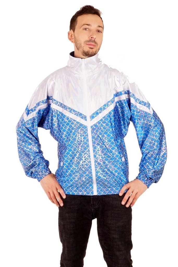 State of Disarray! Blue Fish Scale - Leisure Jacket  #stateofdisarray #recklessfashionrevolution #festivalfashion #festivaloutfit #streetstyle #fashiondesigner #summerstyle #ootd #leisurewear #sportjacket #80sjacket #mermaid #fishscale #shellsuit #shortdungarees #fashionweek #ravewear #clubkid #edm #secretgardenparty #burningman #boomtown #coachella #glastonbury #ibiza #shambala #80's #fancydress #costume #statementfashion #alternativegirl #harajukufashion #kawaiifashion #alternativegirl