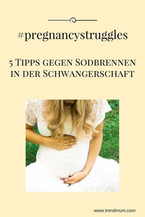 Viele der Schwangeren sind von Sodbrennen betroffen. Vor Allem in den letzen paar Schwangerschaftswochen kämpfen die meisten Schwangeren mit starken Magenschmerzen. Hier sind meine 5 Tipps, was bei mir in der Schwangerschaft gegen Sodbrennen geholfen hat.