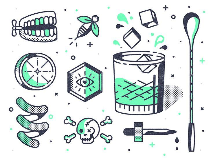Happy Hour by TNKR #Design Popular #Dribbble #shots