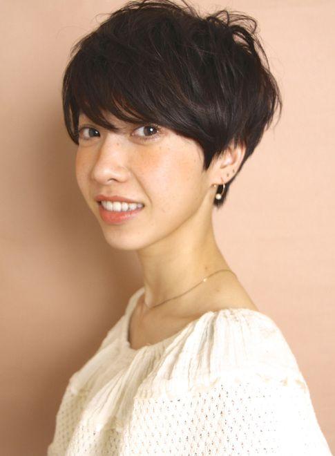 リラックスモードショート(髪型ショートヘア)