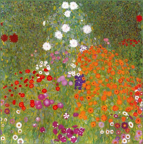 Giardino in fiore - 1905 - Klimt Gustav - Opere d'Arte su Tela - Listino prodotti - Digitalpix - Canvas - Art - Artist - Painting