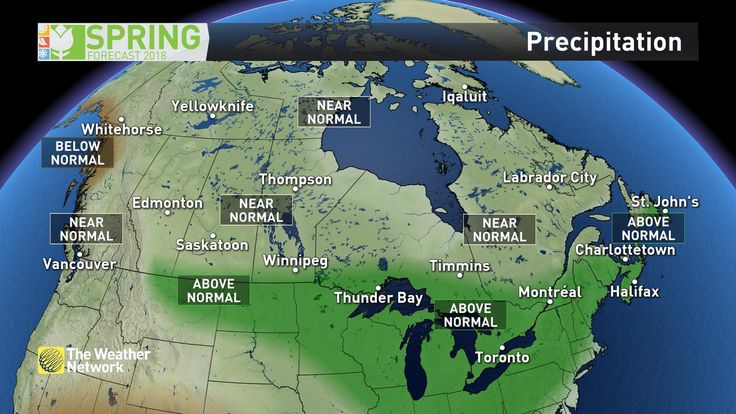 News - Spring Forecast 2018 and exclusive sneak peek at summer - The Weather Network