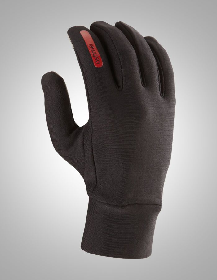 ashmei-run-merino-glove-black-front