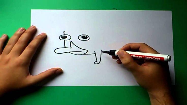 Como dibujar a Perry el ornitorrinco paso a paso - Phineas y Ferb   How ...