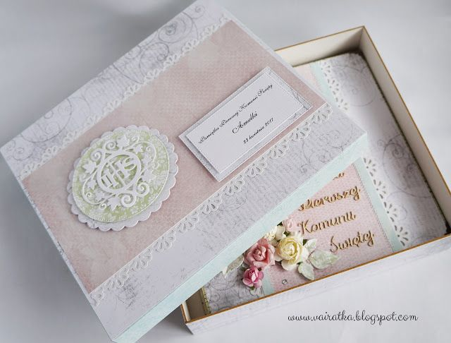 Blog Craft Passion: Album komunijny/First Holy Communion album