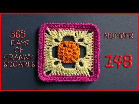 365 Days of Granny Squares Number 148 - YouTube