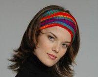 Повязка на голову арт552 - Шерстяные - пончо, свитера, юбки, платья, куртки, кардиганы, накидки, пледы, детские свитера, шапки, шарфы, рейтузы, футбольки, ковры, рубашки, безрукавки, летные платья, палантины - ПЕРУ
