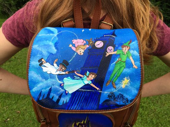 Peter Pan Backpack: Disney Backpack
