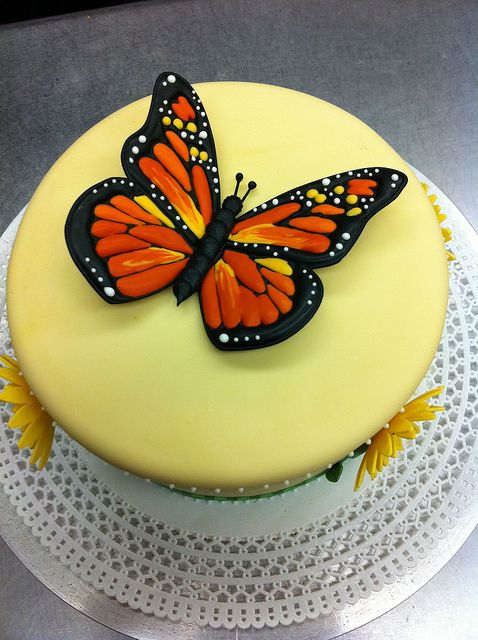 Royal icing butterfly cake Butterfly cakes, Royal icing ...