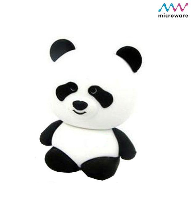 Panda Rubber Shape Designer Pendrive http://www.snapdeal.com/product/MicrowareP/99385