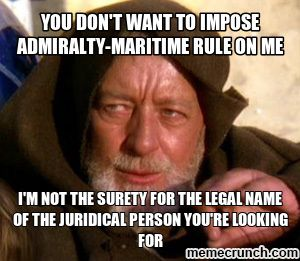 Image result for admiralty law meme