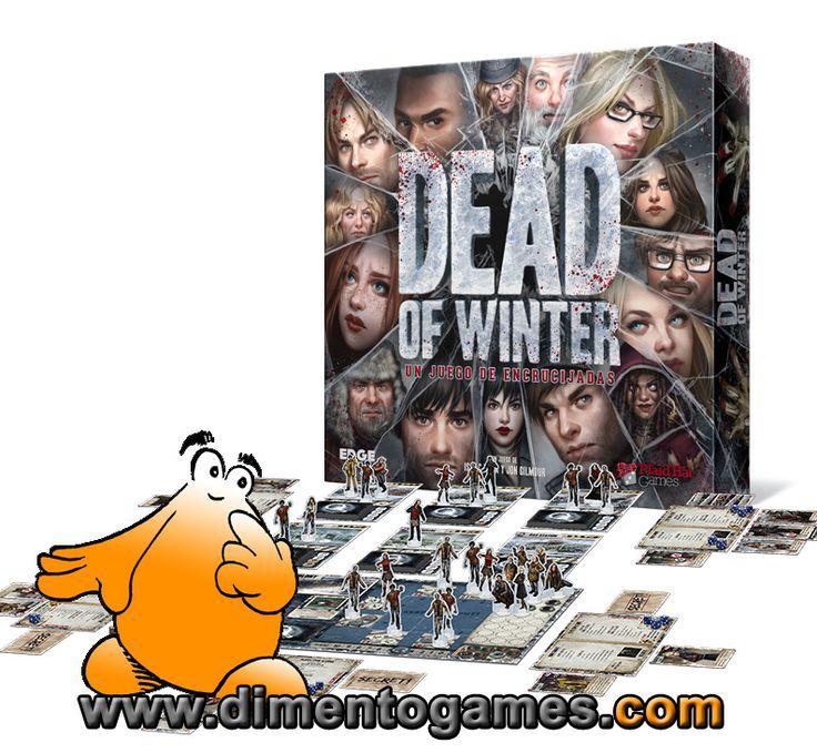 Novedades de otoño para superar la vuelta a la rutina laboral, parte I. Hoy aprenderemos a sobrevivir en equipo a un invierno postapocalíptico con Dead of Winter. ¡Resérvalo YA al mejor precio en Dimento Games!
