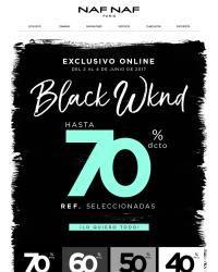 NAF NAF - BLACK WKND - hasta 70% OFF