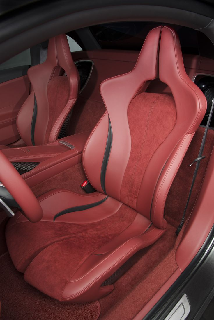 the acura nsx concept seats