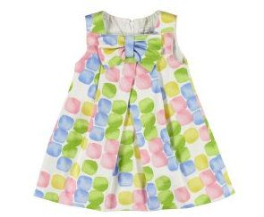 Munchkin and More - Dotted bow dress (four-tone), $35.99 (http://www.munchkinandmore.com.au/dotted-bow-dress-four-tone/)