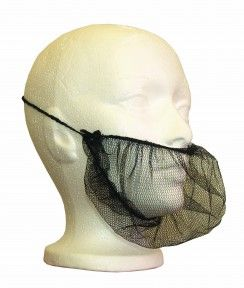 RONCO Beard Cover Honeycomb Mesh http://ca.en.safety.ronco.ca/products/178/ronco-beard-cover RONCO honeycomb mesh beard covers are manufactured with a non-binding latex-free elastic tieback. They are ideal in clean or HACCP compliant work environments to prevent facial hair from contaminating food or other products. Light and breathable, our beard covers offer a secure fit and maximum comfort for long wear