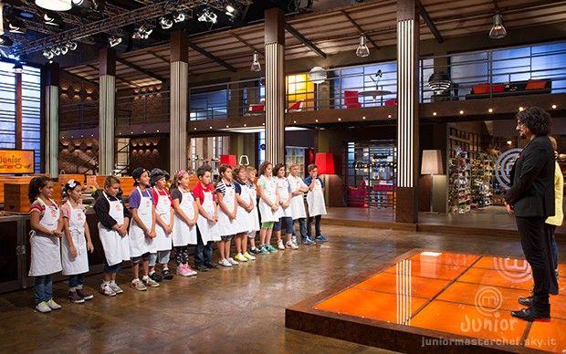 I piccoli aspiranti chef di Junior MasterChef Italia