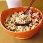 Quinoa Tabbouleh Recipe   MyRecipes.com