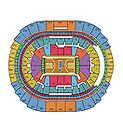 For Sale - 2 Lakers vs Golden State Warriors Tickets 04/11/14 seats near aisle facing bench