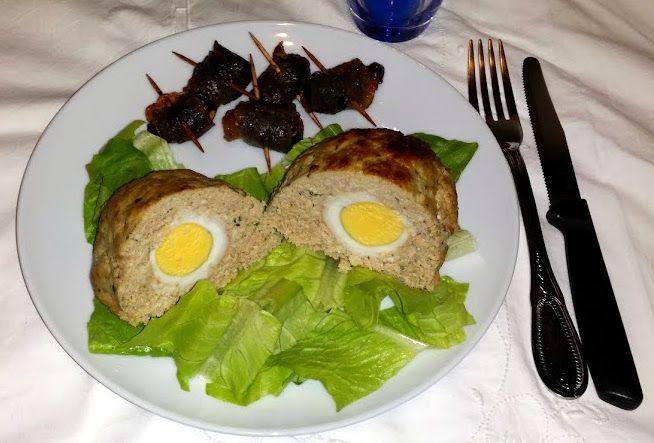 """Ricetta Paleo Dieta – """"Uova di Dinosauro"""" (polpettone)"""