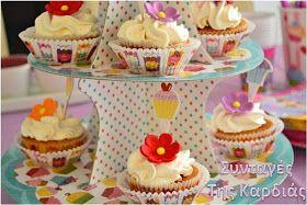 ΣΥΝΤΑΓΕΣ ΤΗΣ ΚΑΡΔΙΑΣ: Cupcakes βανίλιας