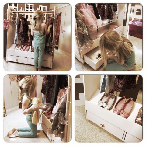Dress-Up kast van QB | (Muur)decoratie & accessoires | Ziezoo! Kinderlifestyle en Design