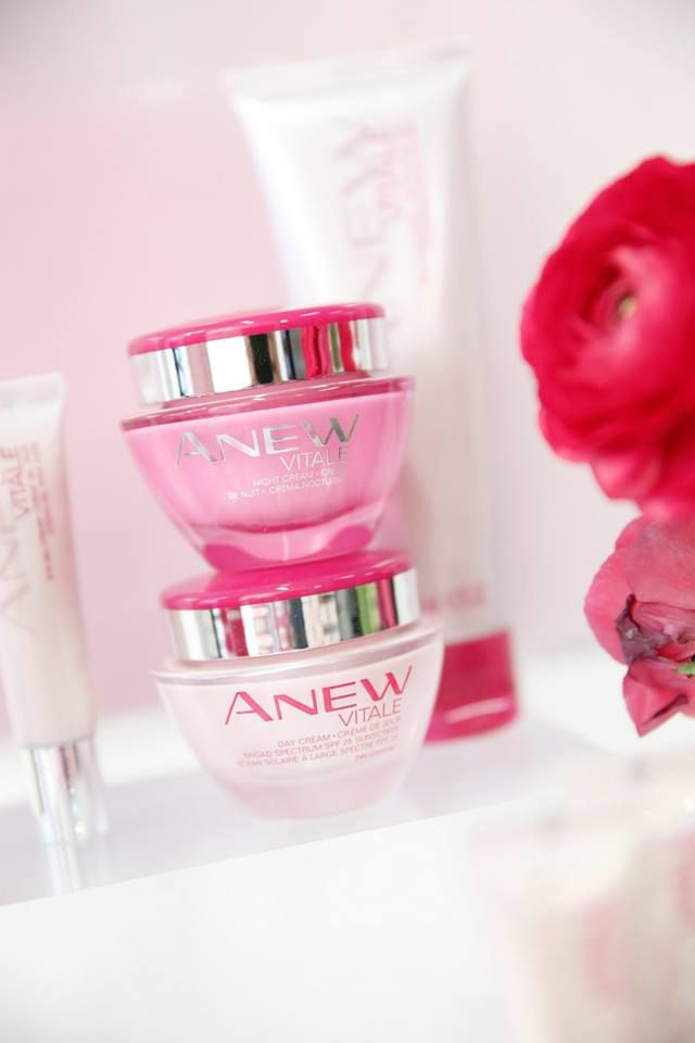 For every jar of ANEW Vitale Day or Night Cream purchased Avon will donate $5 to the Avon Foundation for Women Breast Cancer Crusade through 10/16, up to $1 million. https://victoriaaguila.avonrepresentative.com/  #ANEWyou