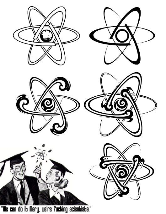 atom tattoo - Google Search