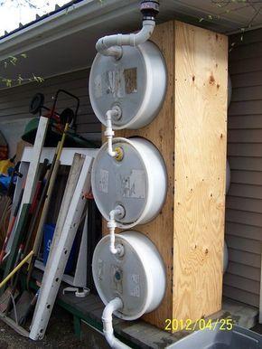 Rain barrel idea...