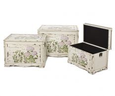Set 3 cufere Seline, shabby chic
