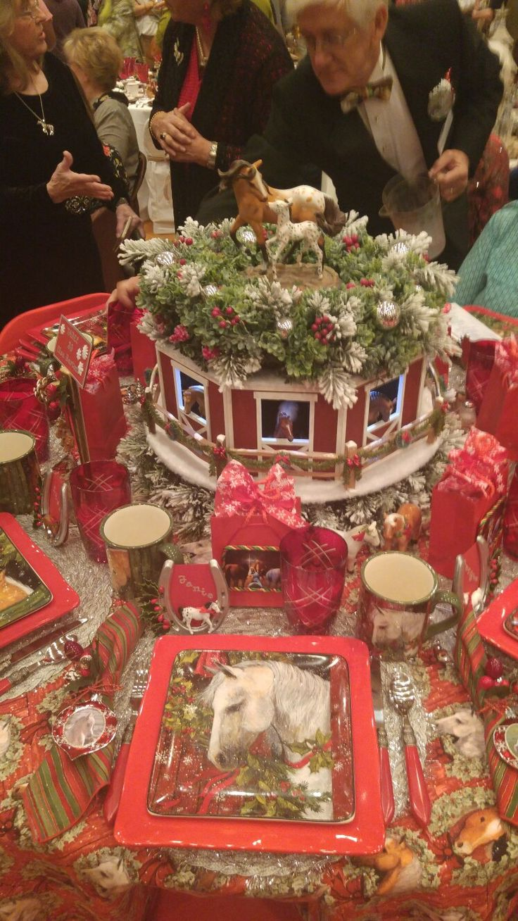 Christmas Centerpieces, Table Settings, Tablescapes