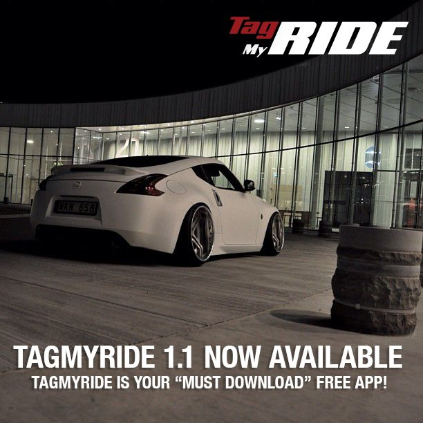 TagMyRide is the FREE must have app for all those who eat, sleep and breathe cars http://itun.es/us/_ZJVN.i