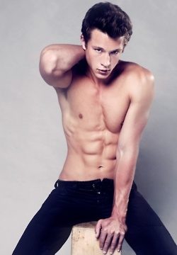 Nick Roux, you're sexy and you know it