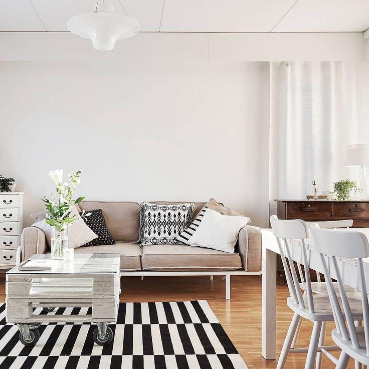 Hyvää huomenta  . #asuntounelmia_unelmaasuntoja . . . Kuvan kohde: Kerrostalo, 3h+k+s, 72,5 m2, Tampere-Viiala, #Nuijatie_36_B (paikassa VILLA LKV)