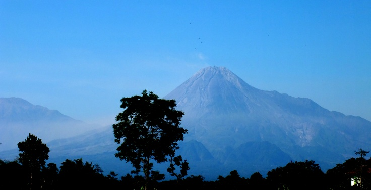 Merapi Mountain