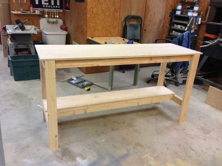The 25+ best ideas about Diy Workbench on Pinterest | Garage ideas ...