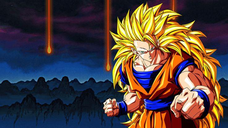 Dragon Ball Z Cartoon Characters : Dragon ball z goku super saiyan wallpaper the best