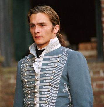 """Rupert Friend playing Wickham in the Jane Austin's """"Pride and Prejudice""""....  I would have chosen him."""