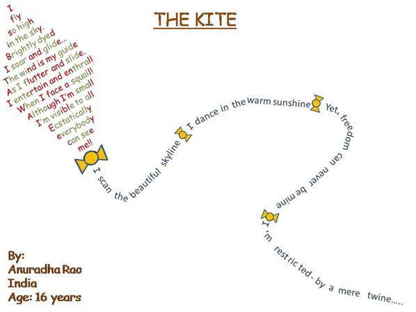 Winning Shape Poems - Kids Poetry Competition 2010 - Peg It Board