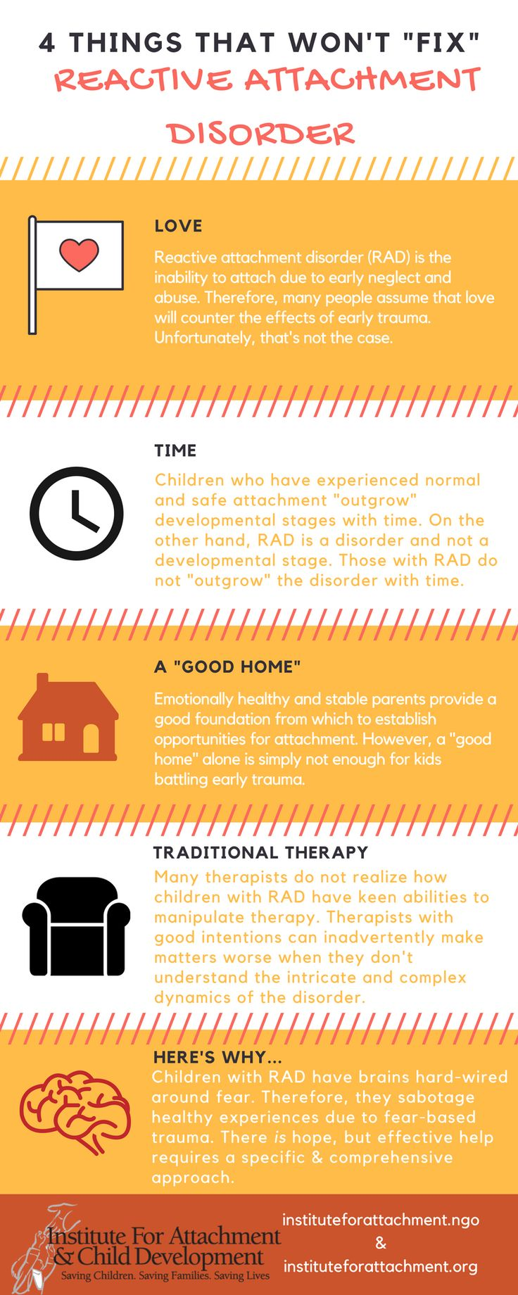 """4 things that won't """"fix"""" reactive attachment disorder – Institute For Attachment and Child Development"""