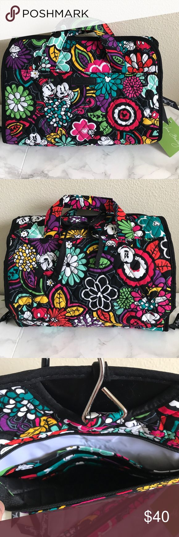 VERA BRADLEYHANGING COSMETIC ORGANIZER BAG NEW WITH TAGSColor: magical blooms. NO TRADES‼️PRICE IS FIRM‼️ READY TO SHIP Vera Bradley Bags Cosmetic Bags & Cases