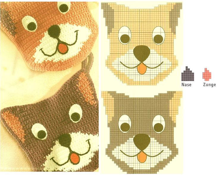 These pot holders are absolutely adorable! Easy to follow diagram and includes instructions. Translate with Google Chrome, ¯_(ツ)_/¯