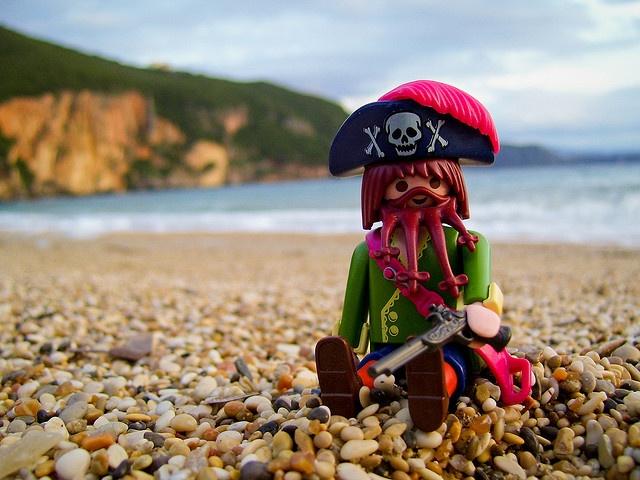 Capitan en la orilla by zhonnetiks, via Flickr