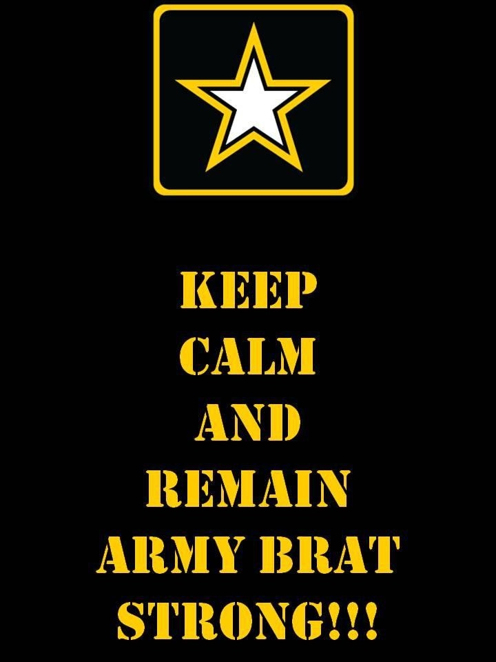 Army Brat! We do it with a HOOAH
