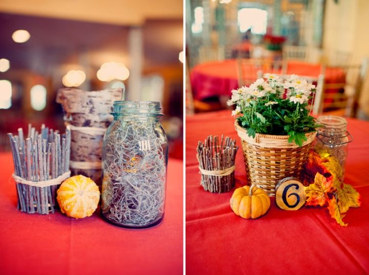 Simple Fall Wedding Centerpieces: 25+ Best Ideas About Homemade Wedding Centerpieces On